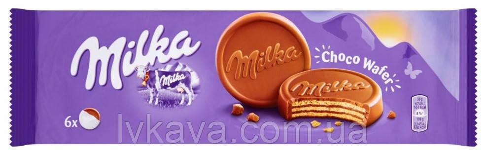 Шоколадні вафлі Milka Choco Wafer, 5 шт х 30 гр