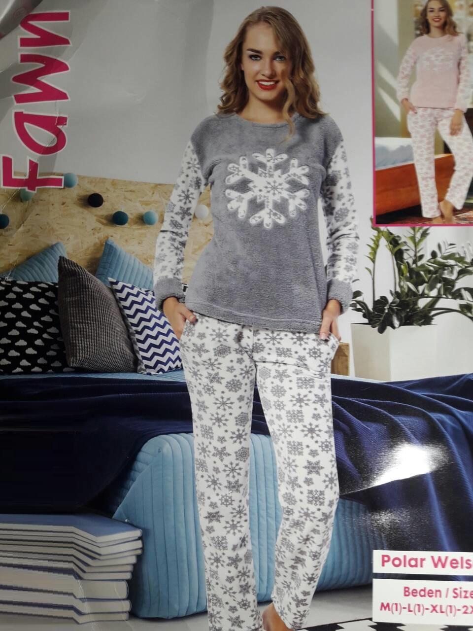 df473a3988c13 Махровая женская пижама Турция 6943, цена 570 грн., купить в Харькове —  Prom.ua (ID#619499327)