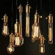 Лампа Эдисона | боченок, вертикаль