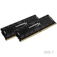 Оперативная память Kingston DDR4 16GB (2x8GB) 3200 MHz Savage Black (HX432C16PB3K2/16)