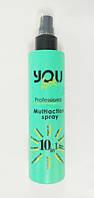 Мультиспрей мгновенного действия 10 в 1Ю Лук Профешнл / You Look Professional Multiaction spray 10 in 1 200 м