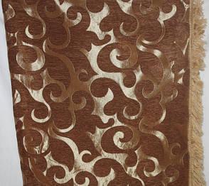 Дивандеки Вензель мелкий (песочный) в комплекте на большой диван и два кресла, фото 2