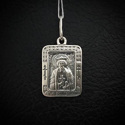 Серебряная подвеска-ладанка Святой Великий князь Владимир, фото 2