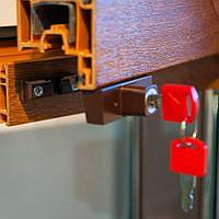 Блокиратор открывания окна BSL original, RAL8017 коричневый матовый