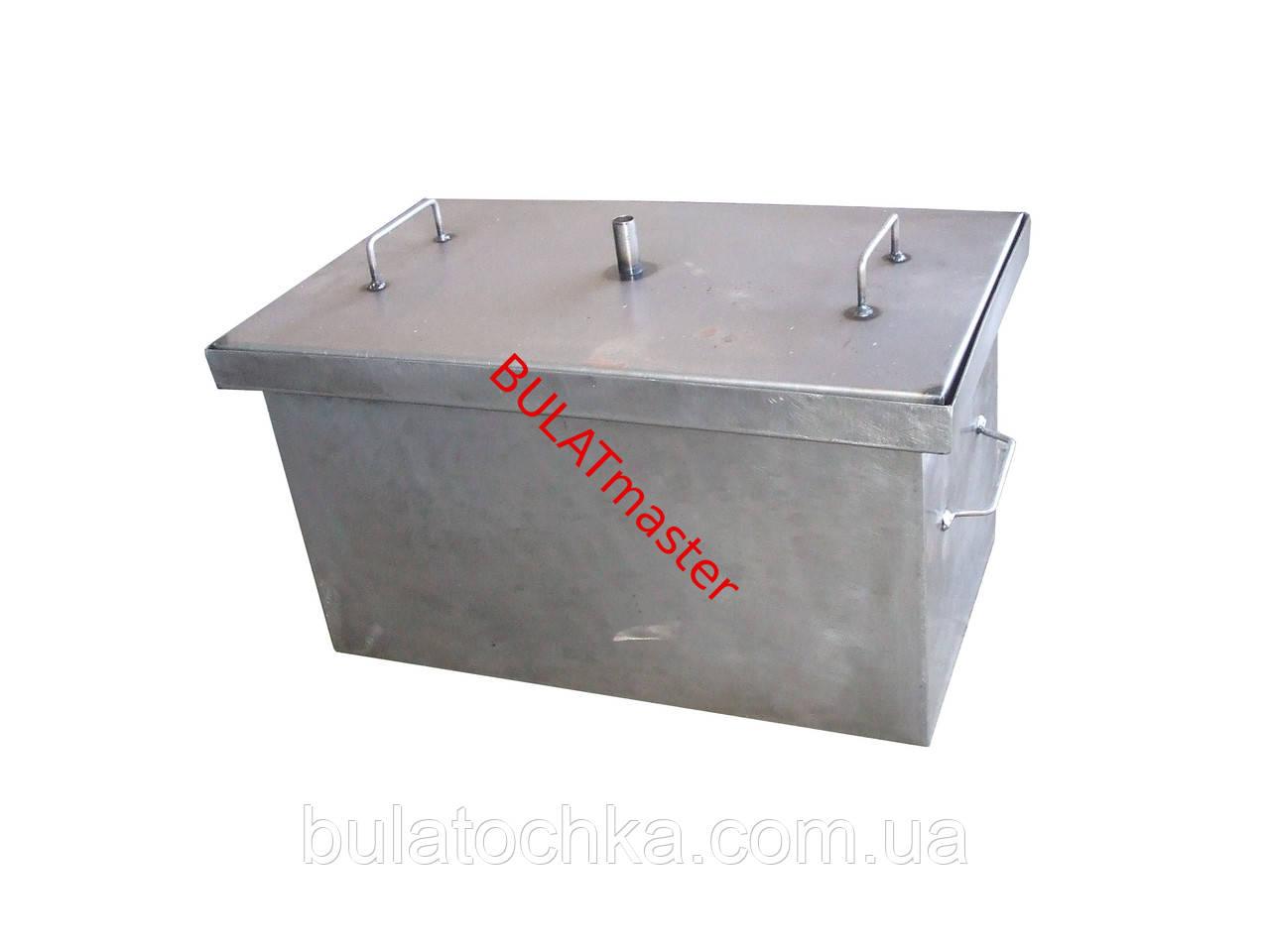 Купить коптильня для горячего копчения с гидрозатвором в самогонные аппараты самый простой