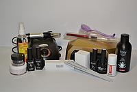 Стартовый набор Kodi для наращивания и покрытия гель лаком с лампой и фрезером