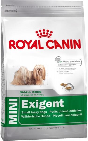 Сухой корм Royal Canin (Роял Канин) MINI EXIGENT для привередливых собак мелких пород, 3 кг
