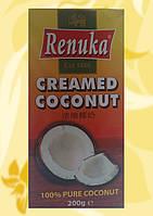 Кокосовые сливки, блок, Renuka, 200мл, Дж