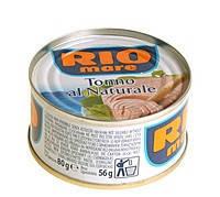 Тунец в собственном соку Rio Mare Tonno Al Naturale, 80г. (консерва)