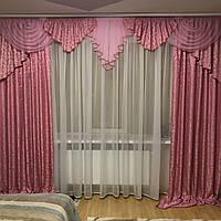 Комплект штор с ламбрекеном для зала №316
