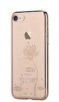 Чехол Devia Crystal Lotus IPHONE 7/8 (Champagne Gold), фото 1