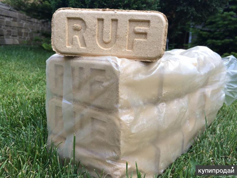 Топливные брикеты RUF (РУФ) из опилок