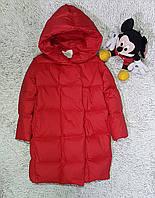Пальто пуховое детское купить