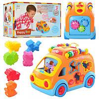 Автобус 988 Huile Toys детская развивающая музыкальная игрушка