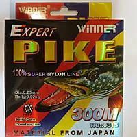 Леска Winner Pike Expert (300м) 0,25мм