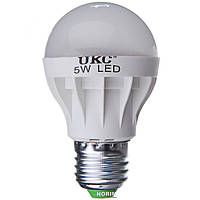 Лампочка светодиодная UKC Led Lamp E27 5W Круглая