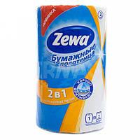 Полотенца кухонные бумажные 2шара 1 рулон (25х23) Zewa