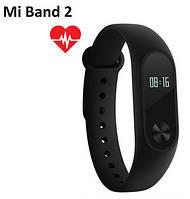 Оригинал  Фитнес-браслет Xiaomi Mi Band 2 Смарт часы трекер сердечный ритм, фото 1