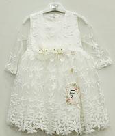 Нарядное платье для девочек,р.92-110  Турция