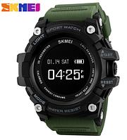 Мужские наручные SMART часы SKMEI 1188 зеленый с черным