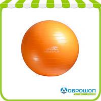 Фитбол PowerPlay + насос 65 см / 4001 / оранжевый