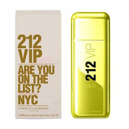 C.H. 212 VIP ARE YOU ON THE LIST? 100 ml MEN , фото 2