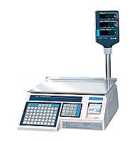 Весы с печатью этикетки CAS-LP-R-15 (1.6) RS-232