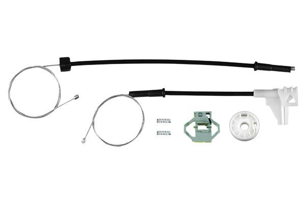 Ремкомплект механизма стеклоподъемника задней правой двери VW Polo classic