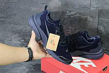 Зимние кроссовки Nike air presto замшевые,темно синие 46р, фото 3
