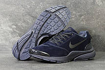 Зимние кроссовки Nike air presto замшевые,темно синие 46р, фото 2