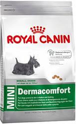 Сухий корм Royal Canin (Роял Канін) MINI DERMACOMFORT для собак дрібних порід з чутливою шкірою, 800 г
