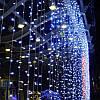Светодиодная гирлянда Водопад 3х3 м. 750 LED. Штора Световой занавес Дождь лед