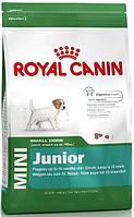 Royal Canin (Роял Канин) MINI JUNIOR корм для щенков 2 - 10 месяцев, 4 кг