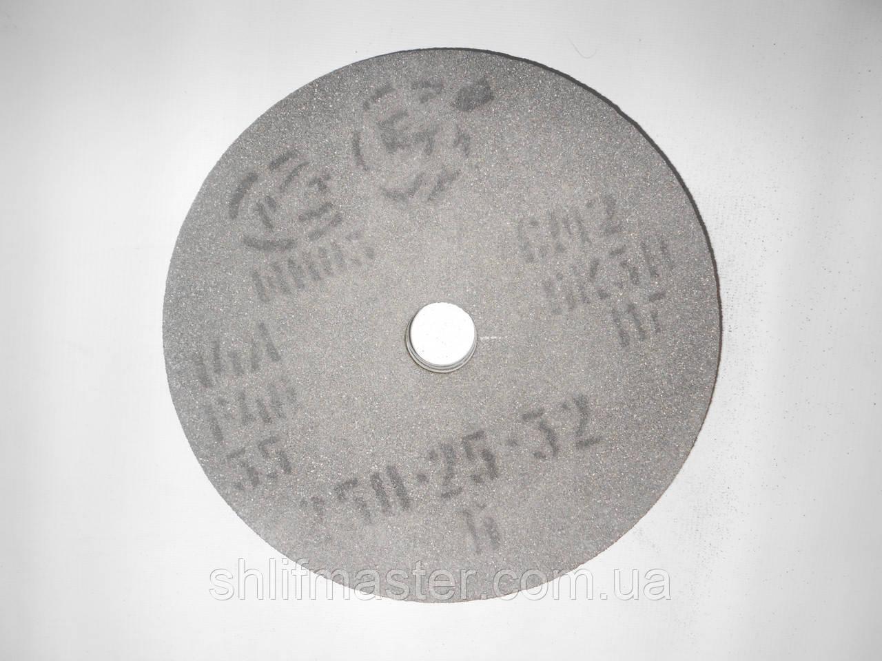 Круг шлифовальный электрокорунд серый керамика 14А ПП 250х25х32 25-40 СМ-СТ/F60-F-40 K-O