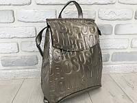 Стильный рюкзак-сумка с буквами золото пр-во Турция 1494