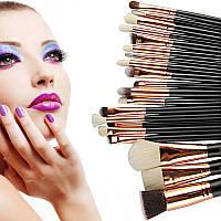 Набор кистей для макияжа Zoeva  ( реплика ) 20 шт  без логотипа, фото 1