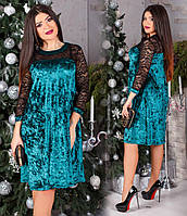 Платье женское большие размеры (цвета) СЕР1201, фото 1