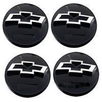 Колпачки заглушки на титановые диски Chevrolet 60/55 мм