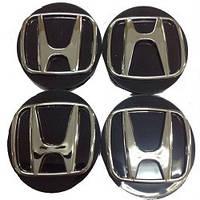 Колпачки заглушки на титановые диски Honda 60/55 мм