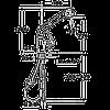 Смеситель TEKA MC-10 PLUS HP матовый хром, фото 2