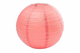 Бумажный подвесной шар коралловый, 25 см