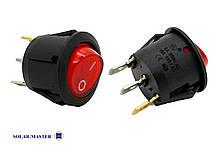 Кнопка - выключатель (кулисный переключатель)