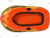 Надувная лодка Explorer 200 Intex 58330, фото 1
