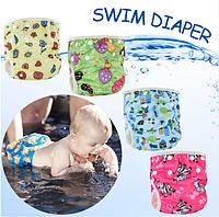 Непромокаемые плавки-подгузники для деток , фото 1