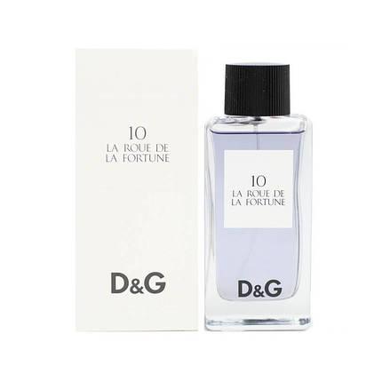 D&G 10 LA ROUE de LA FORTUNE 100 ML, фото 2