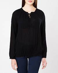 Блуза черного цвета на длинный рукав Hacer от Peppercorn (Дания) в размере M