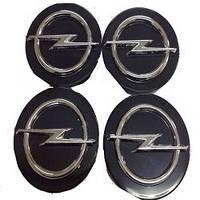 Колпачки заглушки на титановые диски Opel 60/55 мм