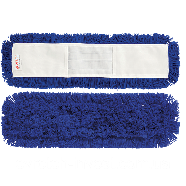 Моп синтетический 100 см. с карманами для сухой и влажной уборки VDM 4144