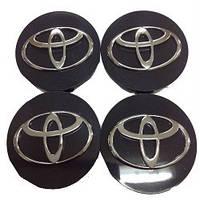 Колпачки заглушки на титановые диски Toyota 60/55 мм