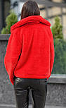 """Женская красивая короткая шуба из искусственного меха """"Автоледи"""" (5 цветов), фото 6"""